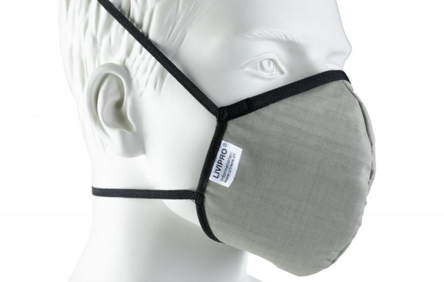 Schutzmaske produziert in der Schweiz