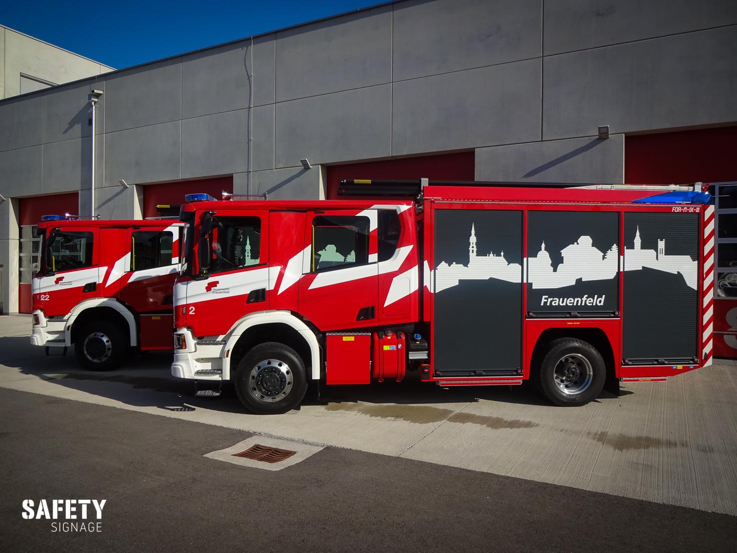TLF - Tanklöschfahrzeug Feuerwehr Frauenfeld