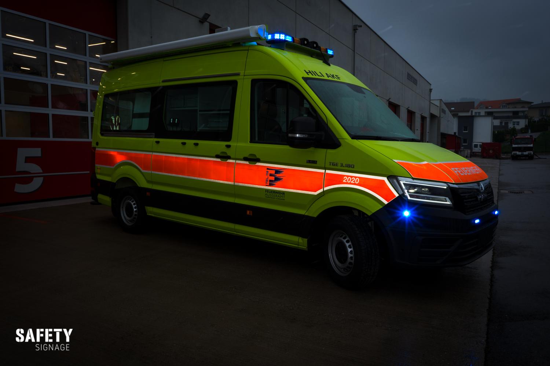 ELF | Einsatzleiterfahrzeug MT | Mannschaftstransporter Feuerwehr Ausseramt & Bubikon Highly Reflective