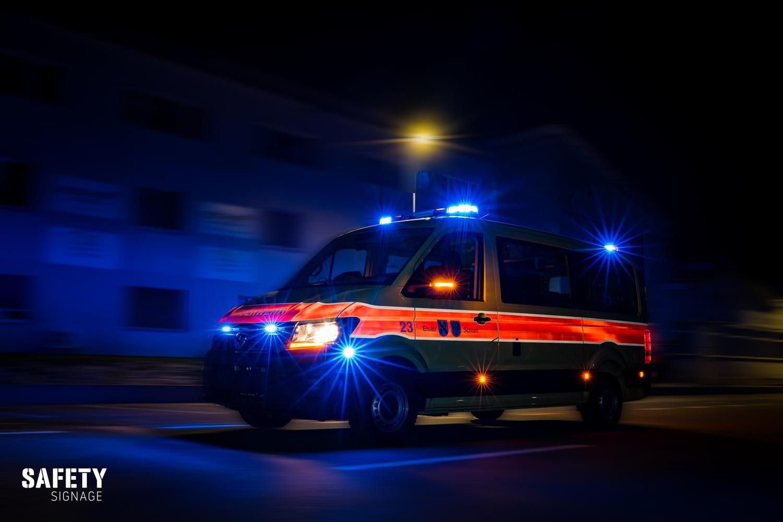 MT - Mannschaftstransporter Feuerwehr Elsau-Schlatt Highly Reflective