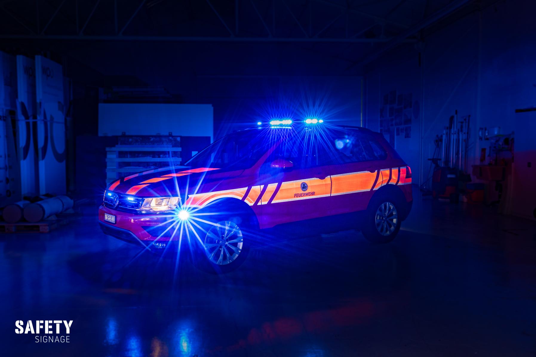 KOWA - Kommandofahrzeug Sicherheitsverbund Region Wil Highly Reflective