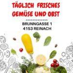 Täglich frisches Obst & Gemüse einkaufen - im Anka Markt in Reinach (BL)
