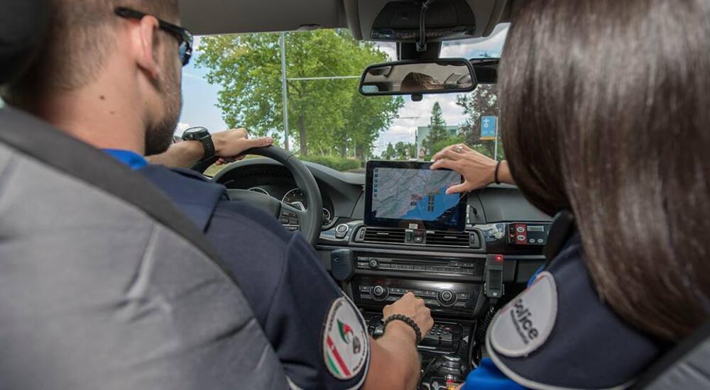Geht es um Ereignisse im Strassenverkehr, übernimmt die Verkehrspolizei Neuenburg. (Bildquelle: Kapo Neuenburg)