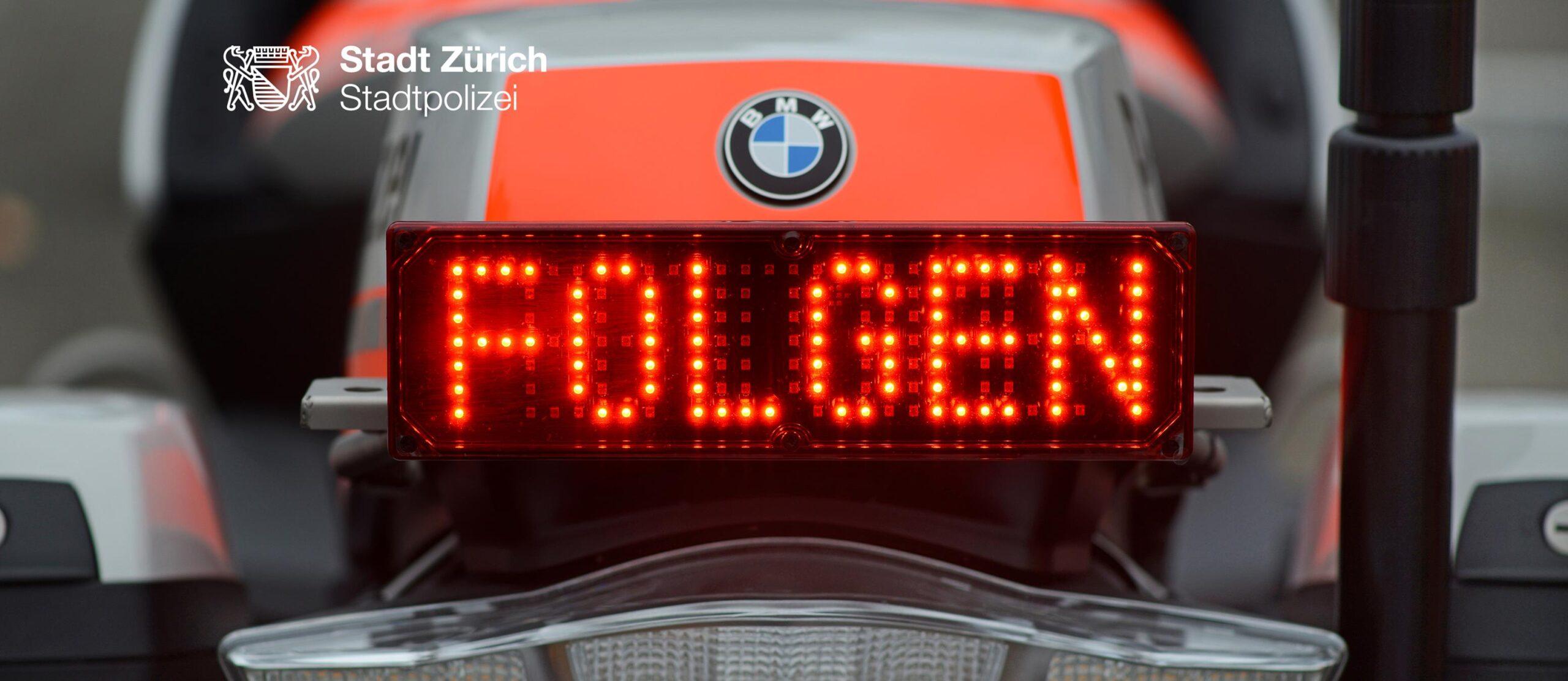 Die Stadtpolizei Zürich ist für die Zürcherinnen und Zürcher da. (Bild: Stapo ZH)