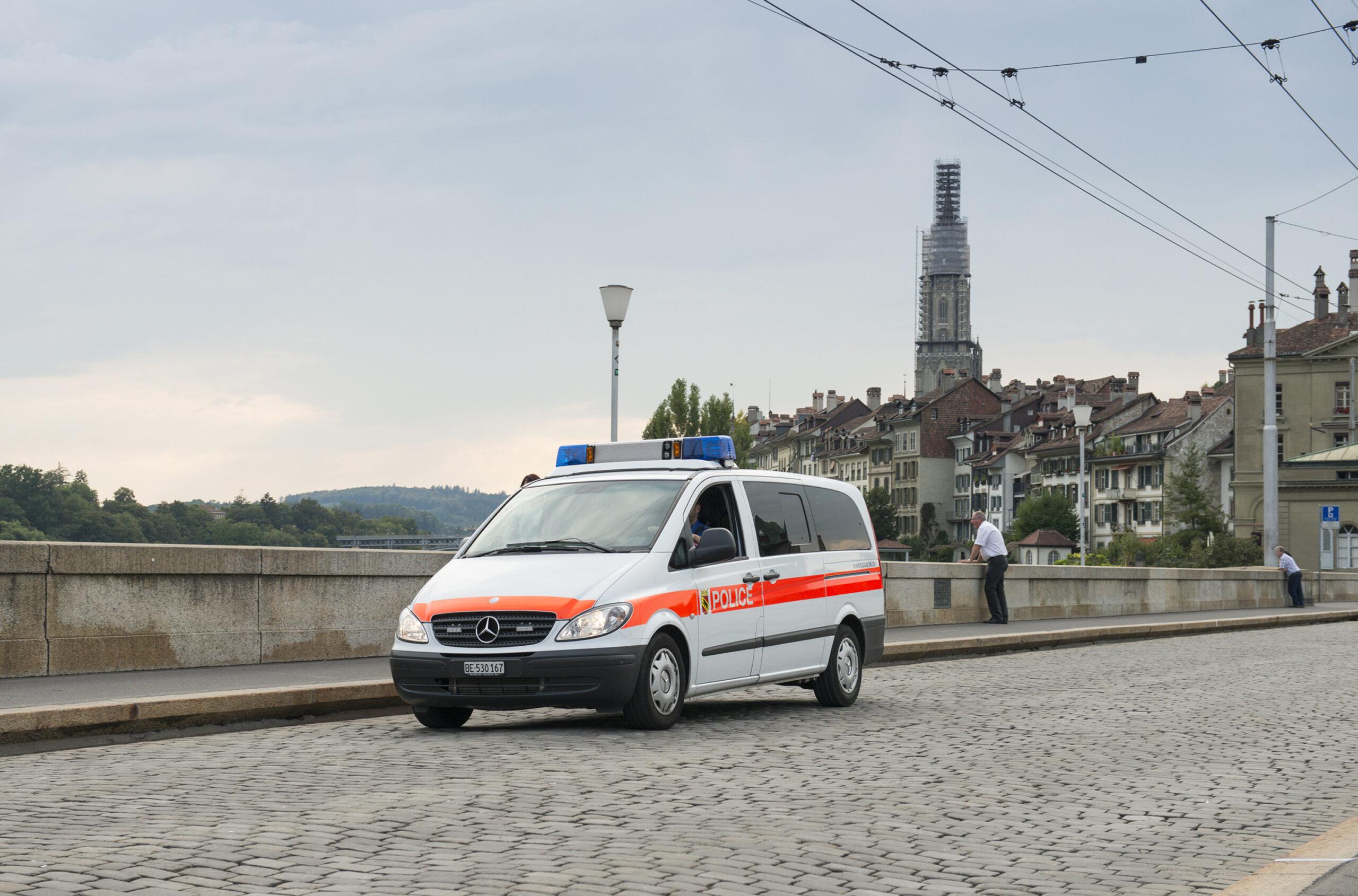 Die Kapo Bern leistet auch wichtige Präventionsarbeit für die Sicherheit. (Bildquelle: Kapo Bern)