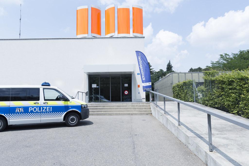 Polizeiwache Kannenfeld (Bildquelle: Kapo Basel-Stadt)