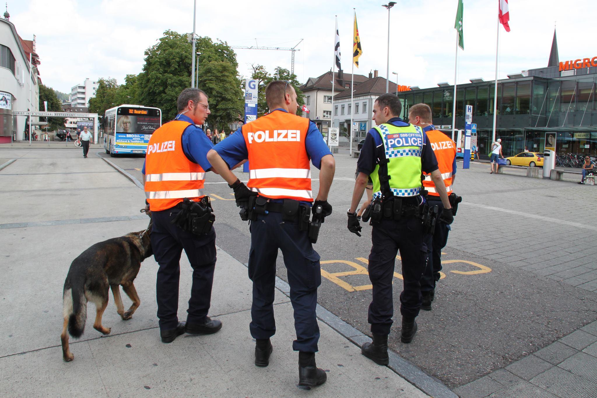 Die Kapo St.Gallen sorgt für die öffentliche Sicherheit. (Bildquelle: Kapo St.Gallen)