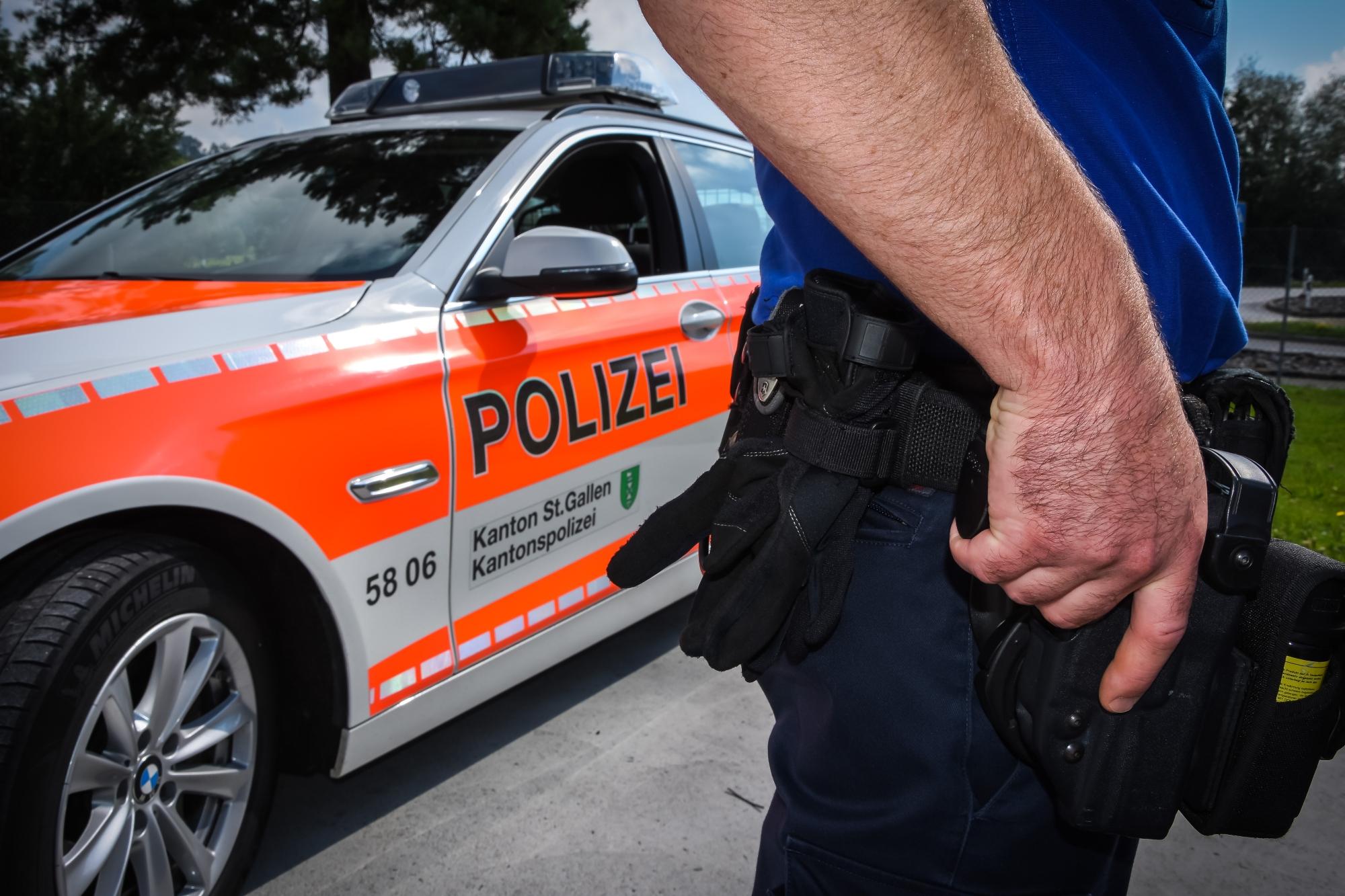 Die Kapo St.Gallen leistet die Verhinderung und Aufklärung von Straftaten. (Bildquelle: Kapo St.Gallen)