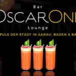Trendige Cocktailbar OscarOne - in Aarau, Baden und Basel